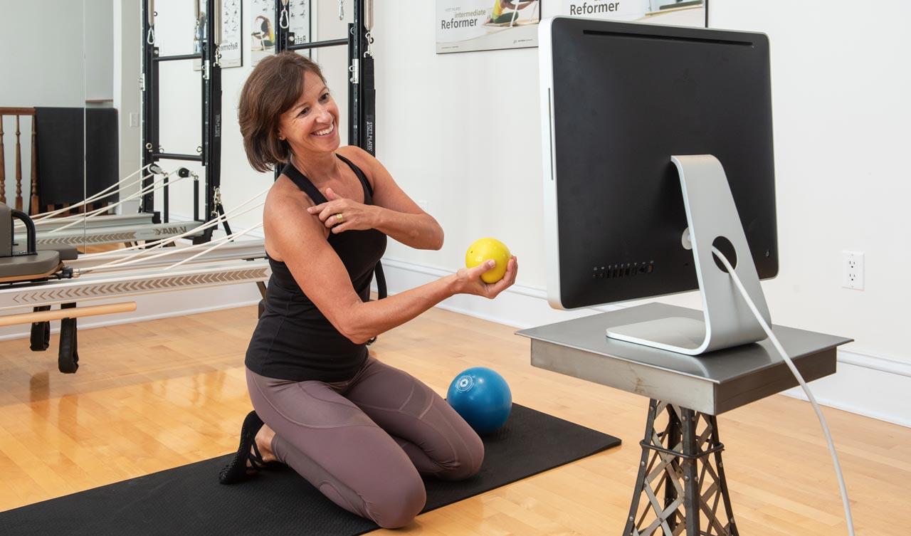 Michele Carini Pilates Ottawa Online Classes